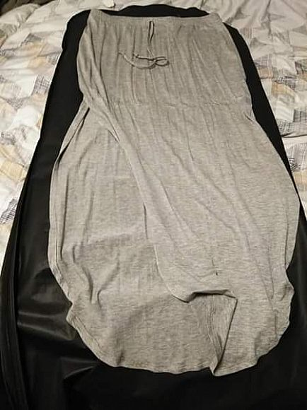 ad grey shirt size large