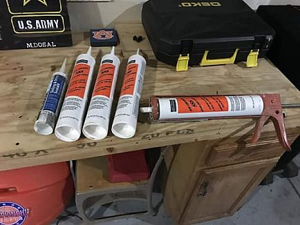 ad caulker and silicone joint sealant