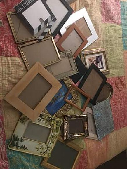 ad frames assorted lot