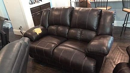 ad reclining sofa and love seat