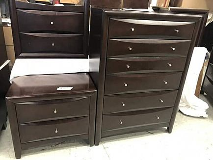 ad bedroom furniture last 4 sets still available. queen