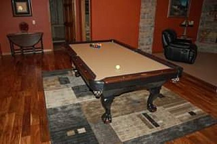 ad 8' titus model – goldenwest pool table – brand new