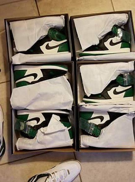 ad jordan 1 pine green all sizes