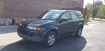 ad 2002 saturn vue · sport utility 4d