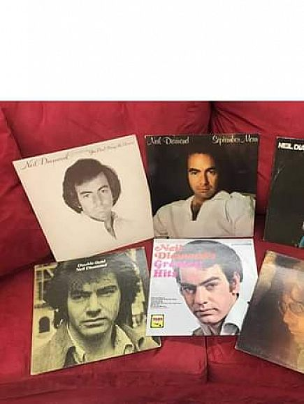 ad vinyl neil diamond records