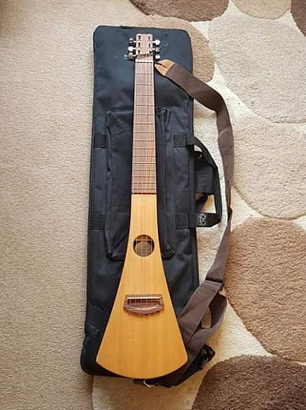 ad martin backpacker acoustic guitar rrp 300
