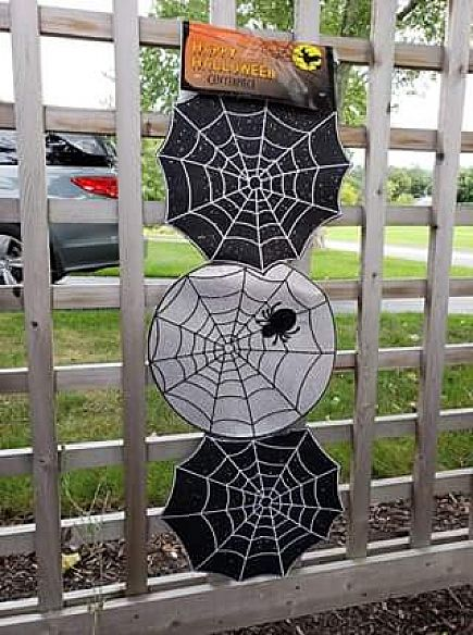 ad halloween table runner