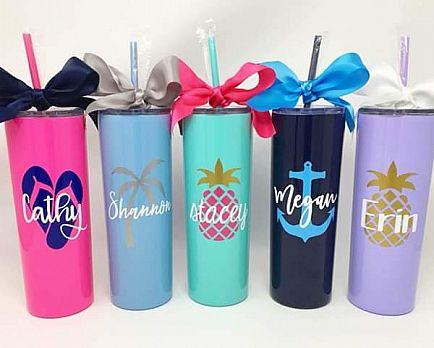 ad stainless steel tumblers
