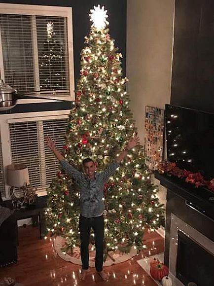 ad free 12 foot christmas tree