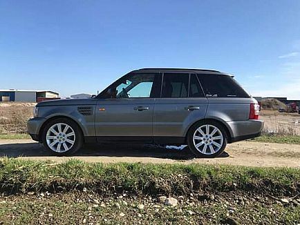 ad range rover land rover sport hse