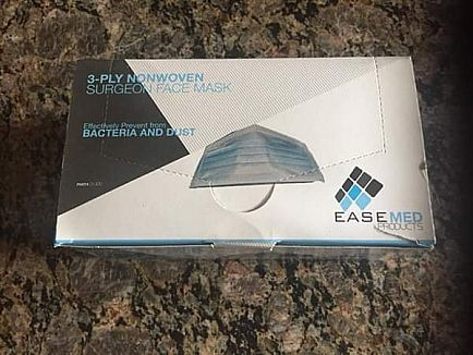 ad surgical mask 50 per box...buy 10 or more boxes $3.00 per box cross posted