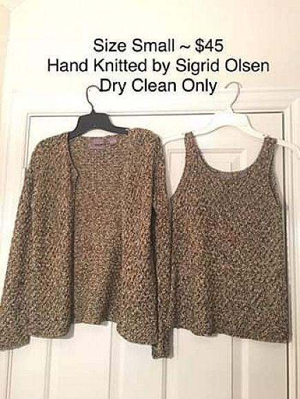 ad gorgeous hand knitted fall shirt set for ladies