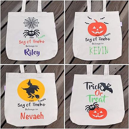 ad halloween trick or treat bags