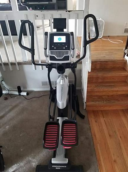 ad elliptical 2 months old
