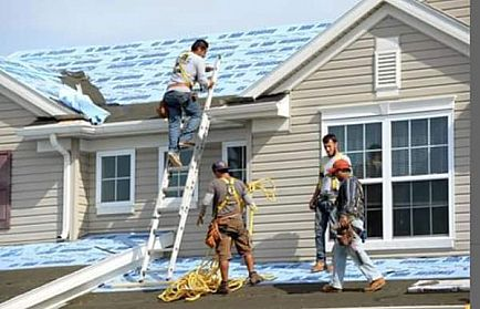 ad new floors today and roofs with gutters! hail damage roofs replace lowest price.