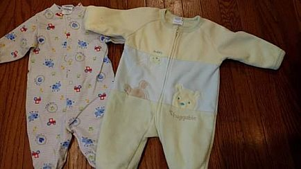 ad infant sleepers excellent condition 3-6 months