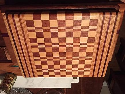 ad exotic hardwood cutting boards / butcher blocks, great christmas gifts!