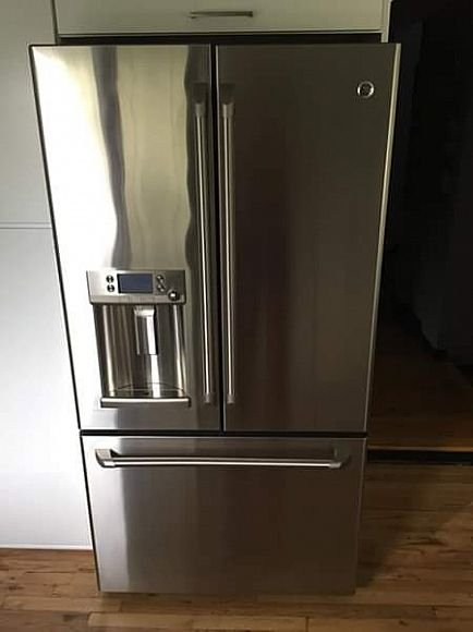 ad ge cafe french door refrigerator