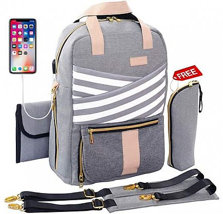 ad new diaper backpack - best gift for every mom!