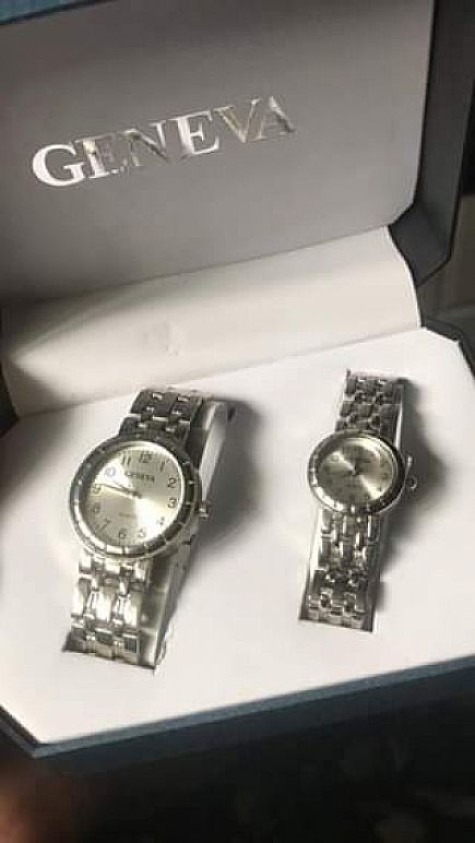 ad his and hers geneva watches