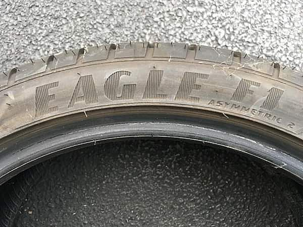 ad goodyear eagle f1 summer performance tires 225 to r18 asymetrical