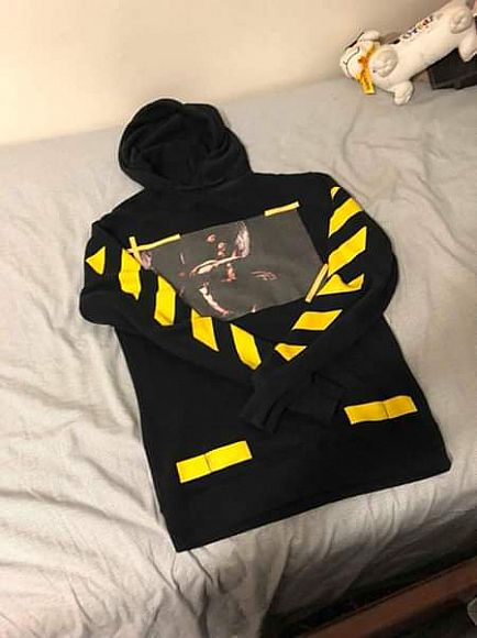 ad off white hoodie