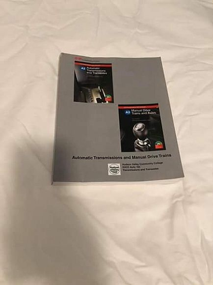ad automotive technician college textbooks