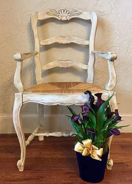 ad french accent chair