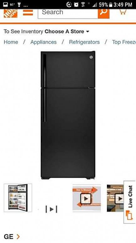 ad general electric refrigerator