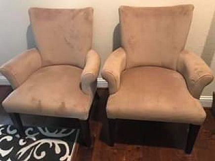 ad coffee colored chairs