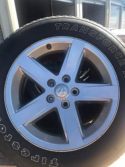 """ad 20"""" dodge ram wheels and tires"""