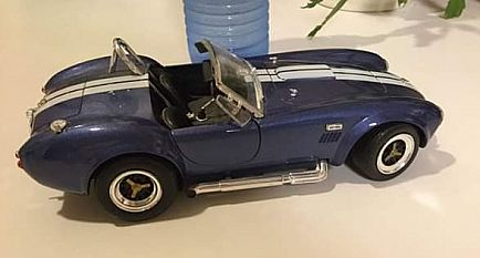 ad model car - shelby cobra 427 s/c mustang - road toughf