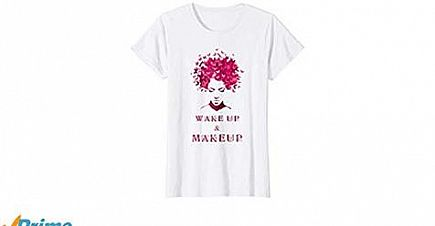 ad butterfly girl's hair wake up & makeup gift shirts