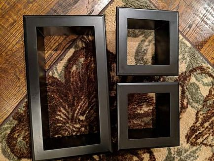 ad set of three wall decoration boxes