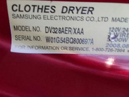 ad samsung dryer with pedistal.
