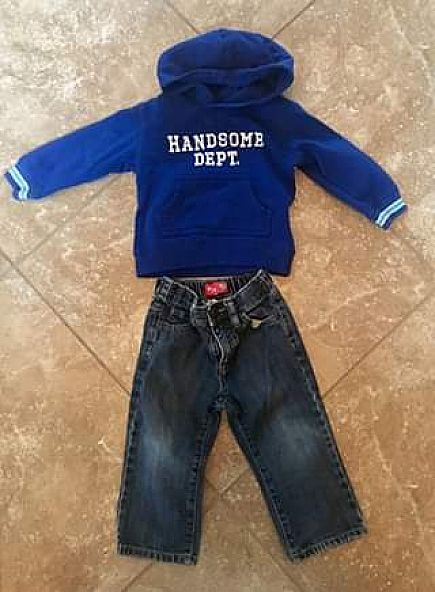 ad boys 18 month outfit