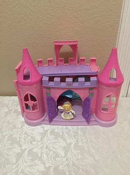 ad fisher price little people princess castle!