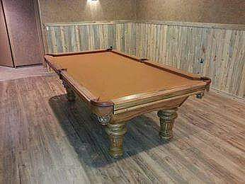 ad timberline model pool table - by goldenwest - brand new!