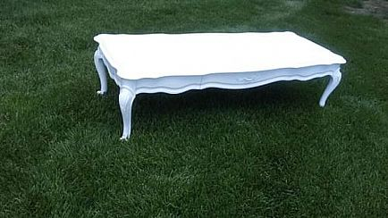 ad shabby chic coffee table!