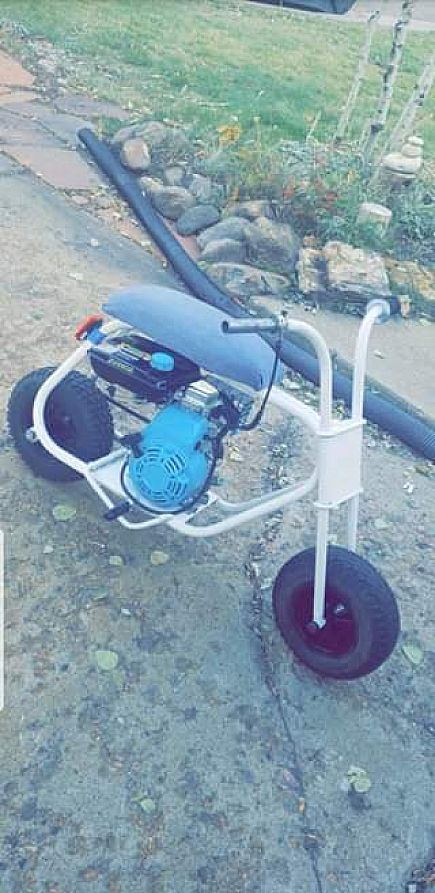 ad 60s cat minibike need gone asap obo