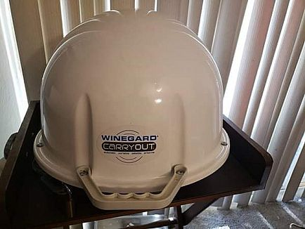 ad winegard carryout portable satellite antenna - rv/tailgating/camping