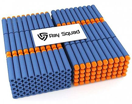 ad new 300 pack nerf compatible foam darts