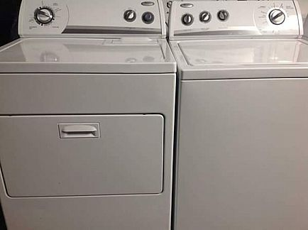 ad matching whirlpool washer and dryer