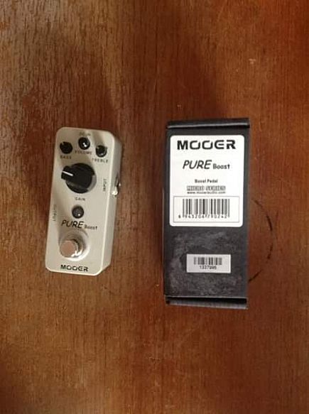 ad mooer pure boost pedal