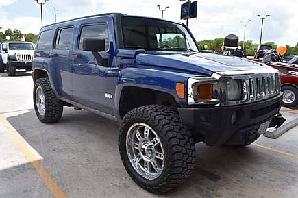 ad 2006 hummer h3 4x4 lifted $1000 down - just traded! - $8995 (san antonio - we finance)