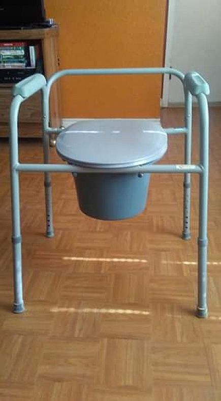 ad roscoe medical potty chair
