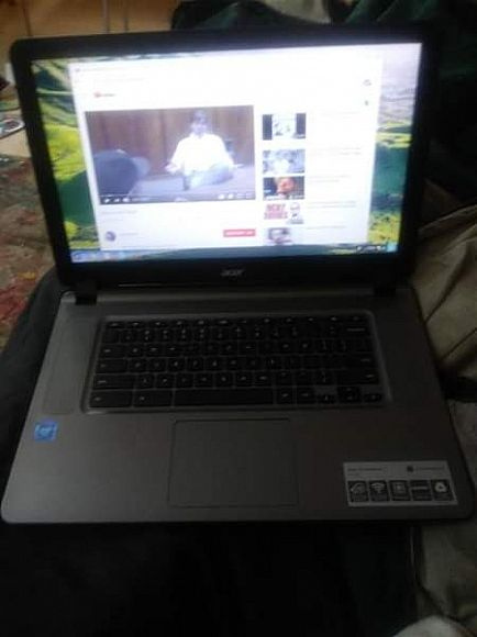 ad brand new just purchased from best buy on 14 -_- was gifted a second one. chromebook 15.6 inches