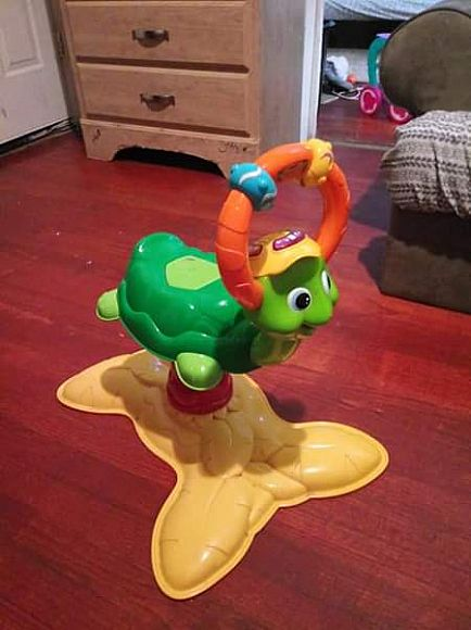 ad vtech turtle bouncer toy