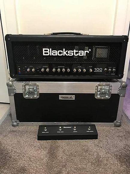 ad blackstar series one 100 with flight case