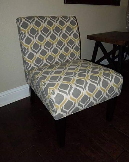 ad new christopher knight home saloon fabric chair 33t 27d 23w